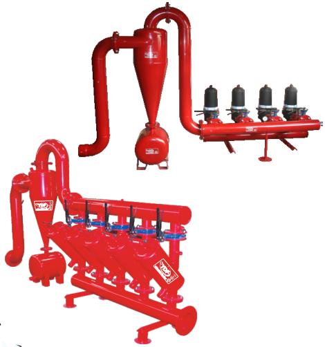 Metal Hidroksiklonlu Metal Kollektörlü Filtre Sistemleri