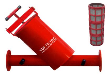 Yatay Elek Metal Filtre