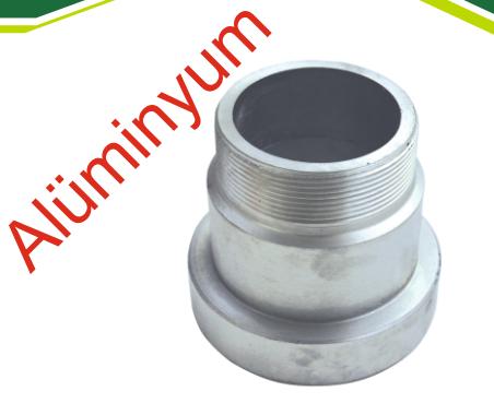 Mandallı Motor Çıkış Dişi ( Alüminyum)