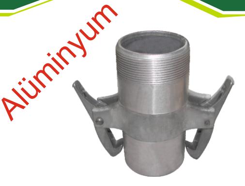 Mandallı Motor Çıkış Erkek (Alüminyum )